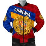 Armenia Men Bomber Jacket Sporty Style K8