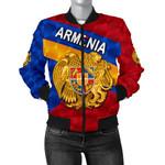 Armenia Women Bomber Jacket Sporty Style K8