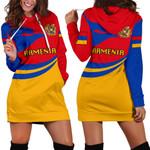 Armenia Women Hoodie Dress Proud Version K4