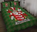 Armstrong Ireland Quilt Bed Set Irish National Tartan A7