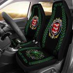 Armstrong Ireland Shamrock Celtic Irish Surname Car Seat Covers TH7