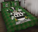 Aston Ireland Quilt Bed Set Irish National Tartan A7