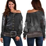 Athos Women's Off Shoulder Sweater, The Musketeers TH79