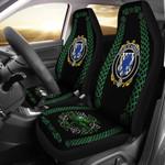Aungier Ireland Shamrock Celtic Irish Surname Car Seat Covers TH7