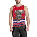 Australia Christmas Aboriginal Men Tank Top Koala Version K13