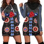 Australia Indigenous Women Hoodie Dress New Zealand Maori Kiwi K13
