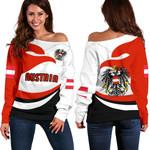 Austria Off Shoulder Sweater Proud Version K4