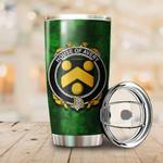 Avery Family Crest Ireland Shamrock Tumbler Cup  K6