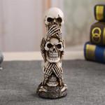 Avoid From Evil, Skull Sculpture Home Decor TH7