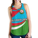 Azerbaijan Women Racerback Tank Proud Version K4