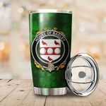 Bagley or Begley Family Crest Ireland Shamrock Tumbler Cup  K6
