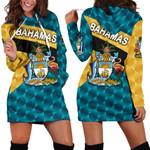 Bahamas Sporty Women Hoodie Dress Style K8