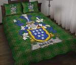 Baillie Ireland Quilt Bed Set Irish National Tartan A7