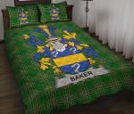 Baker Ireland Quilt Bed Set Irish National Tartan A7