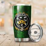 Ball Family Crest Ireland Shamrock Tumbler Cup  K6