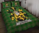 Barker Ireland Quilt Bed Set Irish National Tartan A7