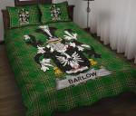 Barlow Ireland Quilt Bed Set Irish National Tartan A7