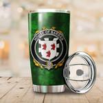 Barran Family Crest Ireland Shamrock Tumbler Cup  K6