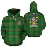 Beaumont Ireland Hoodie Irish National Tartan (Pullover) A7