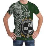 Irish Family, Fitz-Rice Family Crest Unisex T-Shirt Th45