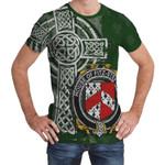 Irish Family, Fitz-Stephens Family Crest Unisex T-Shirt Th45