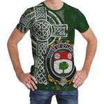 Irish Family, Flannery or O'Flannery Family Crest Unisex T-Shirt Th45