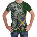 Irish Family, Fleury Family Crest Unisex T-Shirt Th45