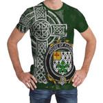 Irish Family, Flower Family Crest Unisex T-Shirt Th45