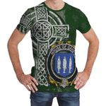 Irish Family, Gahan or McGahan Family Crest Unisex T-Shirt Th45