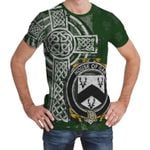 Irish Family, Gar or Garr Family Crest Unisex T-Shirt Th45