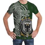 Irish Family, Garland or McGartland Family Crest Unisex T-Shirt Th45