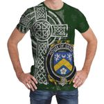 Irish Family, Gervais Family Crest Unisex T-Shirt Th45