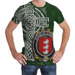 Irish Family, Gibney or O'Gibney Family Crest Unisex T-Shirt Th45
