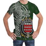 Irish Family, Gilmartin or Kilmartin Family Crest Unisex T-Shirt Th45