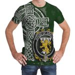 Irish Family, Grattan or McGrattan Family Crest Unisex T-Shirt Th45