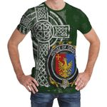 Irish Family, Graves or Greaves Family Crest Unisex T-Shirt Th45