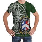 Irish Family, Halligan or O'Halligan Family Crest Unisex T-Shirt Th45