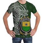 Irish Family, Haly or O'Haly Family Crest Unisex T-Shirt Th45