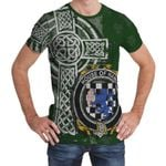 Irish Family, Hand or McClave Family Crest Unisex T-Shirt Th45