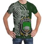 Irish Family, Hanlon or O'Hanlon Family Crest Unisex T-Shirt Th45