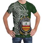 Irish Family, Hare or O'Hare Family Crest Unisex T-Shirt Th45