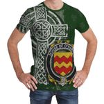 Irish Family, Harkins or O'Harkin Family Crest Unisex T-Shirt Th45