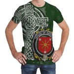 Irish Family, Harold or Harrell Family Crest Unisex T-Shirt Th45