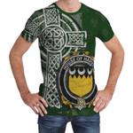 Irish Family, Harvey or Hervey Family Crest Unisex T-Shirt Th45