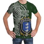 Irish Family, Healey or O'Healey Family Crest Unisex T-Shirt Th45