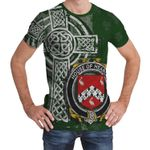 Irish Family, Hearon or Hearn Family Crest Unisex T-Shirt Th45