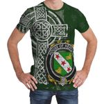 Irish Family, Heatley Family Crest Unisex T-Shirt Th45