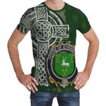 Irish Family, Hennessy or O'Hennessy Family Crest Unisex T-Shirt Th45