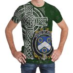 Irish Family, Hodge Family Crest Unisex T-Shirt Th45