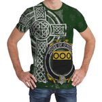 Irish Family, Hogan or O'Hogan Family Crest Unisex T-Shirt Th45